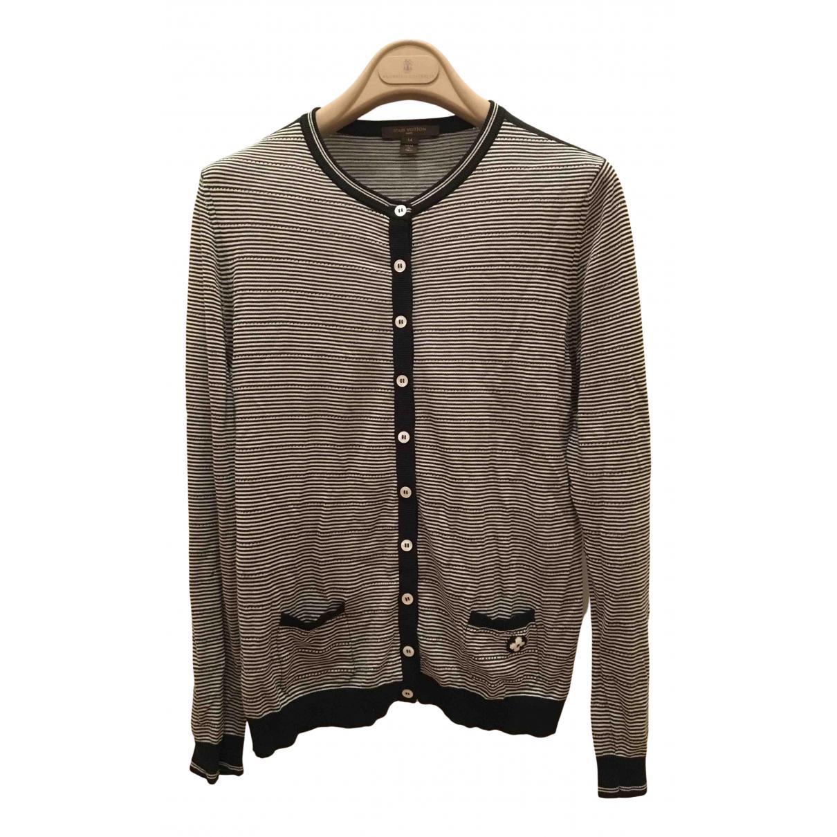 Louis Vuitton N Black Cotton Knitwear for Women M International