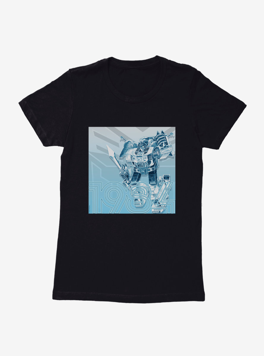 Transformers Vinatge Optimus Womens T-Shirt