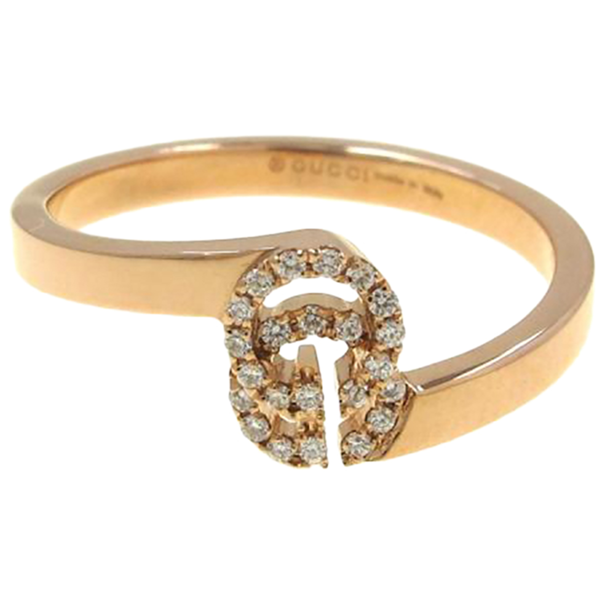 Gucci N Pink gold ring for Women 49 EU