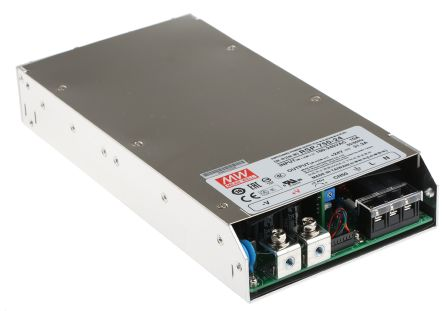Mean Well , 751W Embedded Switch Mode Power Supply SMPS, 24V dc, Enclosed