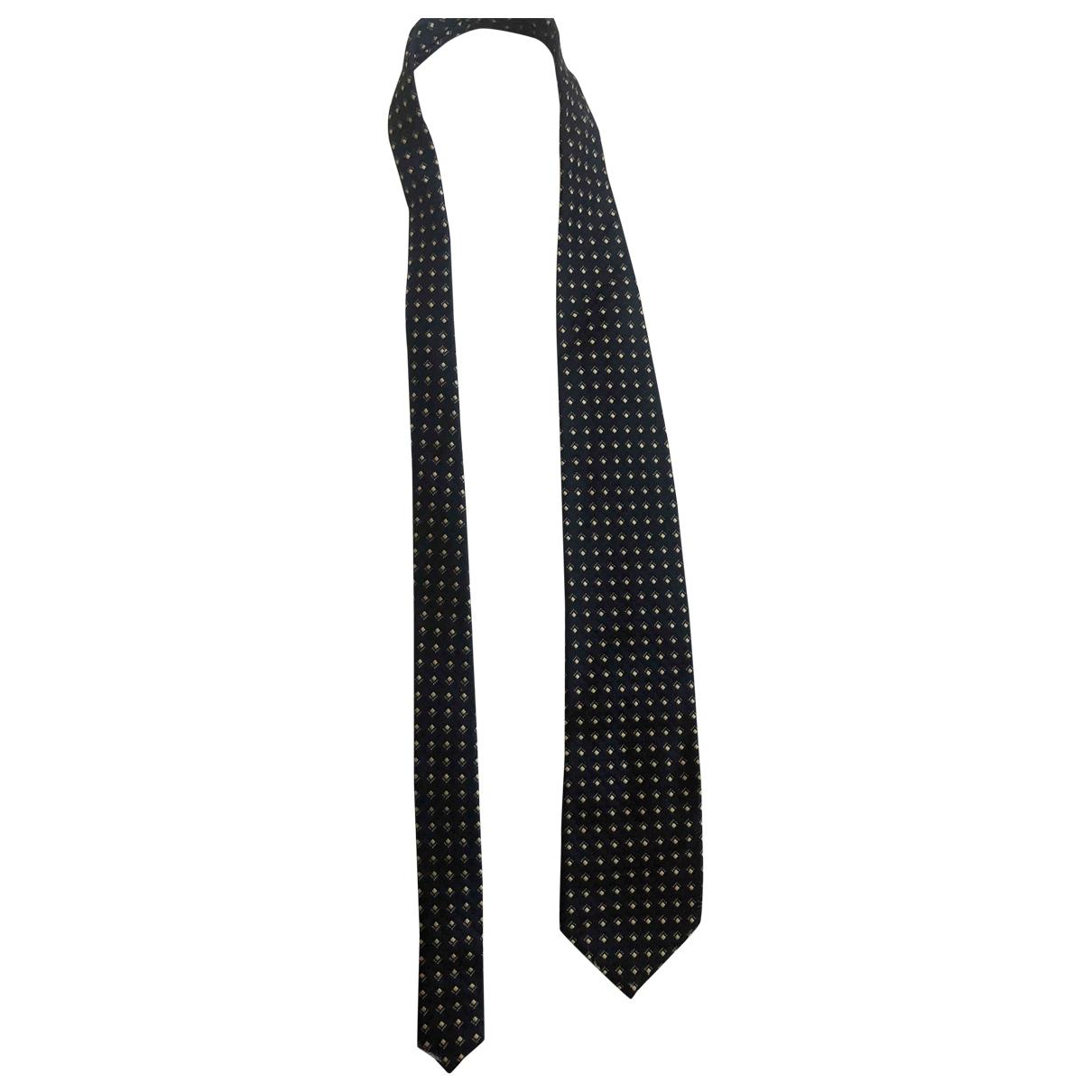 Ungaro Parallele \N Krawatten in  Marine Seide