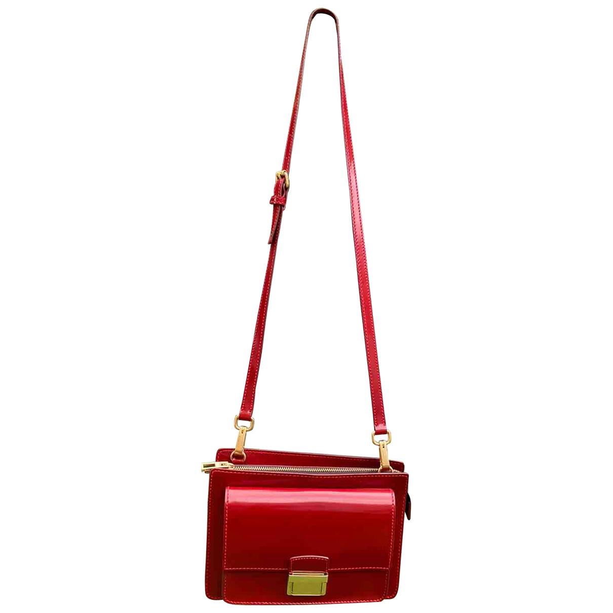Bimba Y Lola \N Handtasche in  Rot Lackleder