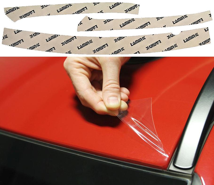 Chevrolet Silverado 16-18 A-Pillar & Cab Top Edge Protection Lamin-X CH3546