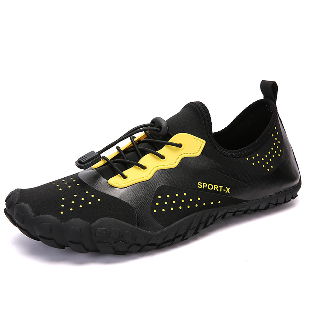 Men Elastic Band Slip Resistant Loafers