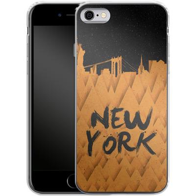 Apple iPhone 6 Silikon Handyhuelle - New York City von Danny Ivan