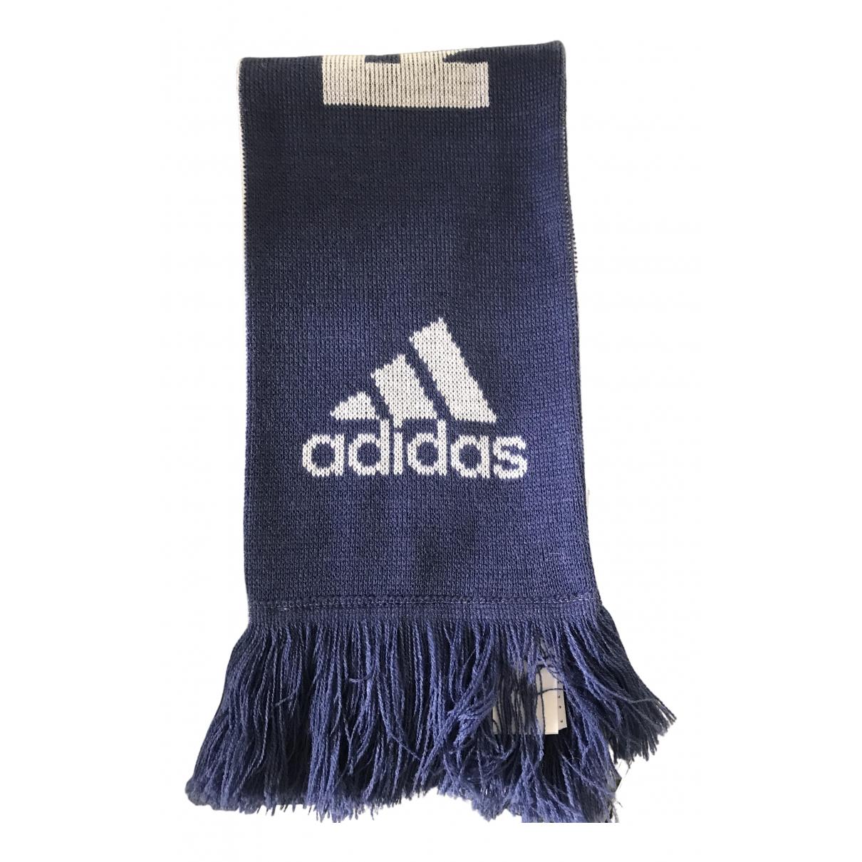 Adidas - Cheches.Echarpes   pour homme en coton - bleu
