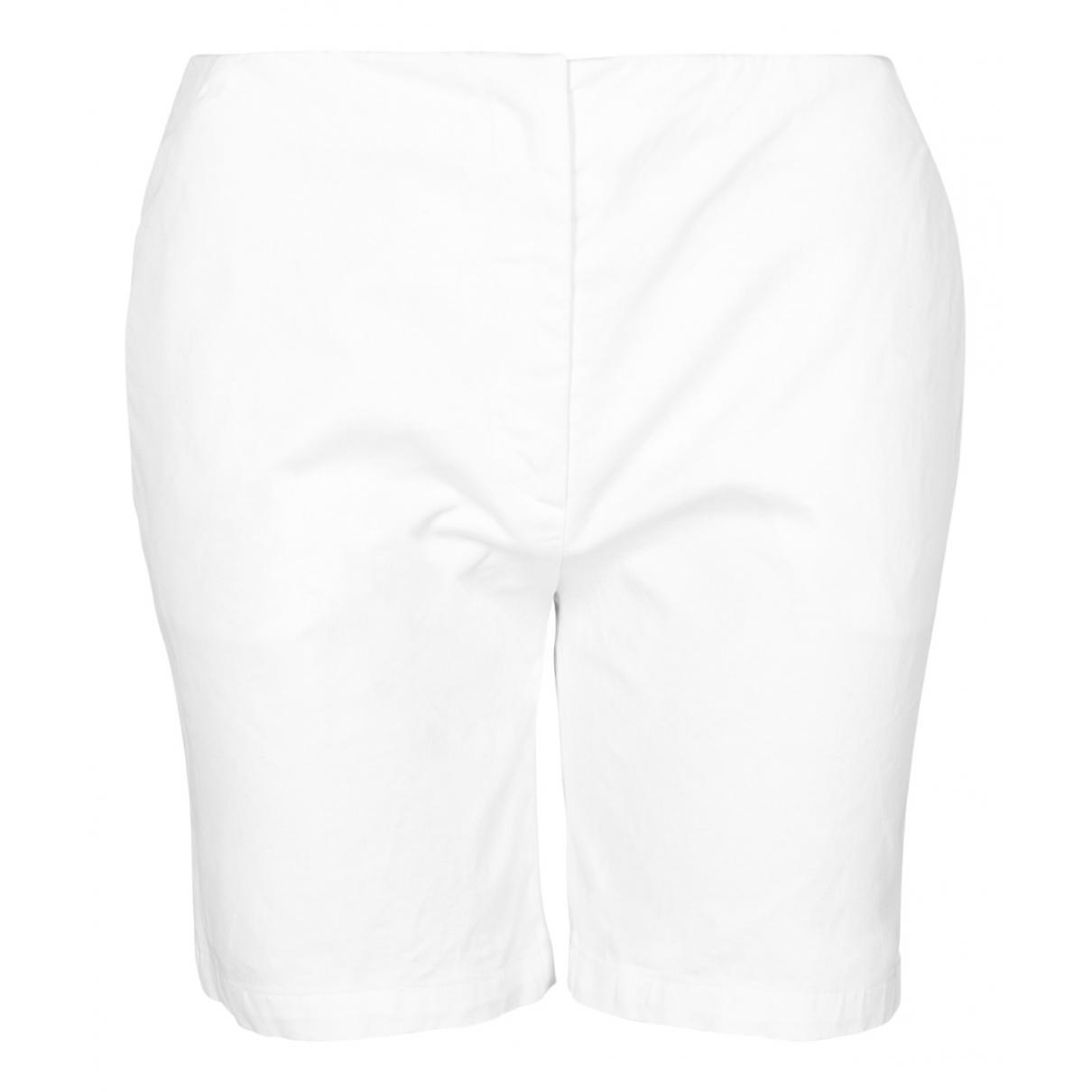 Prada N White Cotton Shorts for Women 10 UK