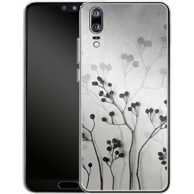 Huawei P20 Silikon Handyhuelle - Abstract Flowers 5 von Mareike Bohmer