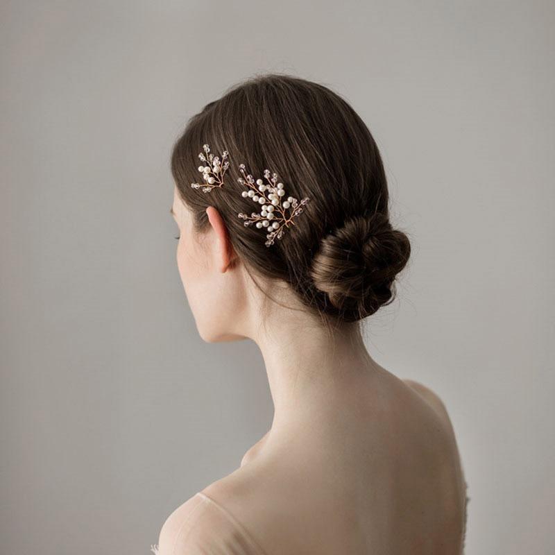 Ericdress Wedding Hair Pin Stick Leaf Hair Accessories