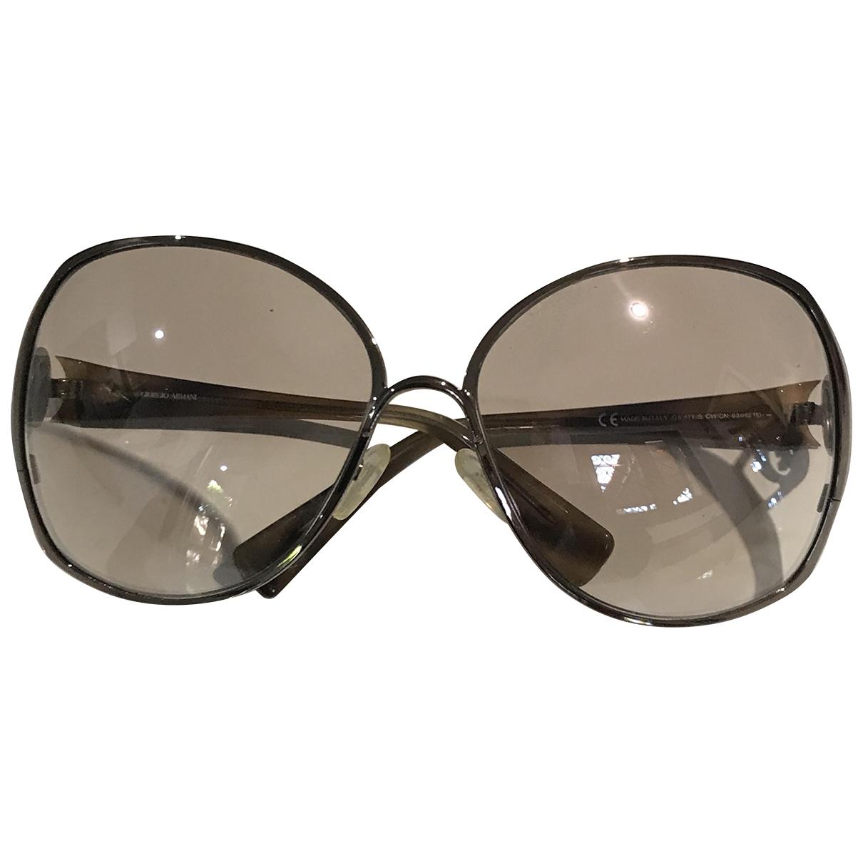 Giorgio Armani \N Sonnenbrillen in Metall