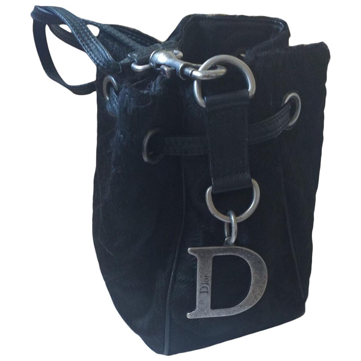 Dior \N Black Pony-style calfskin handbag for Women \N