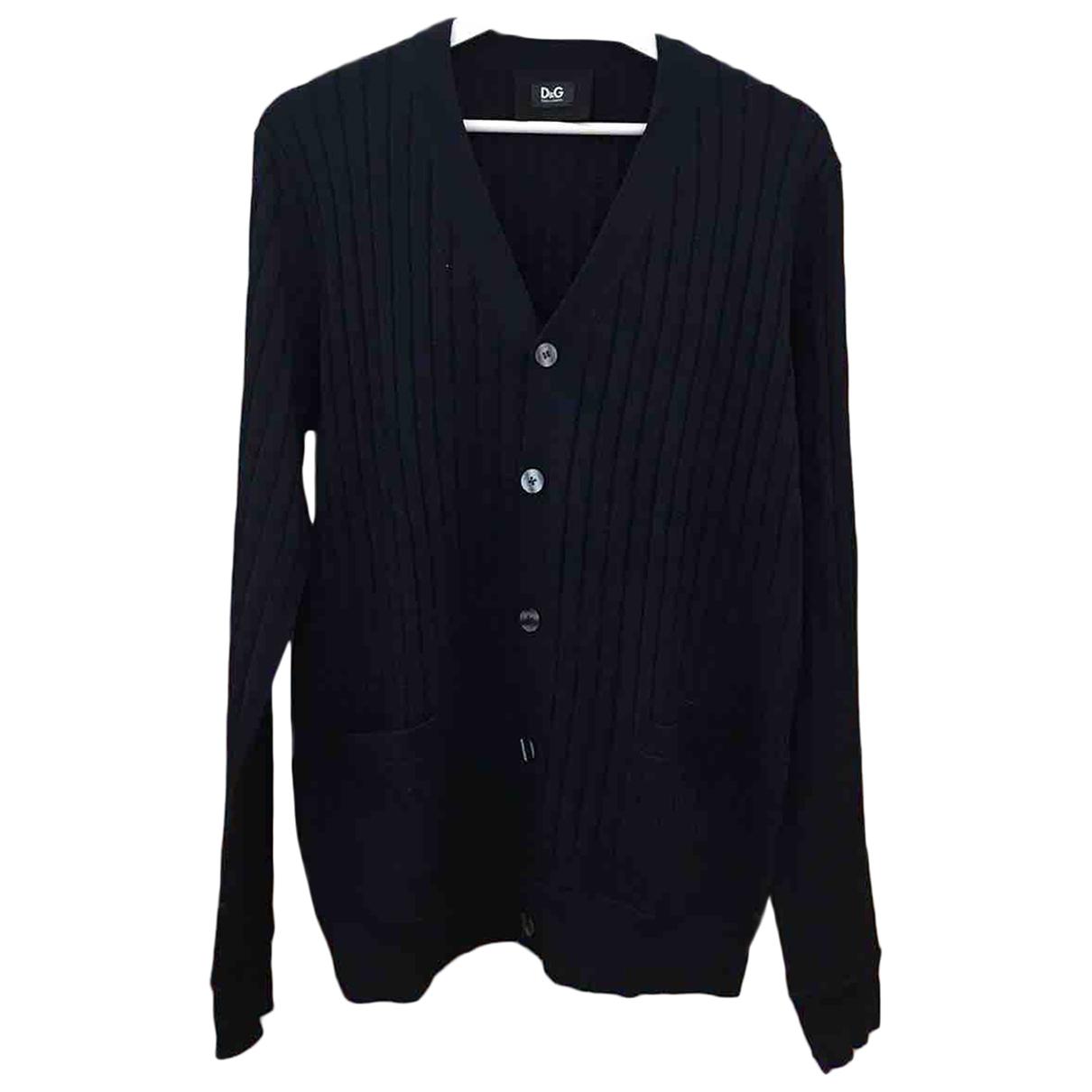 D&g - Pulls.Gilets.Sweats   pour homme en laine - bleu