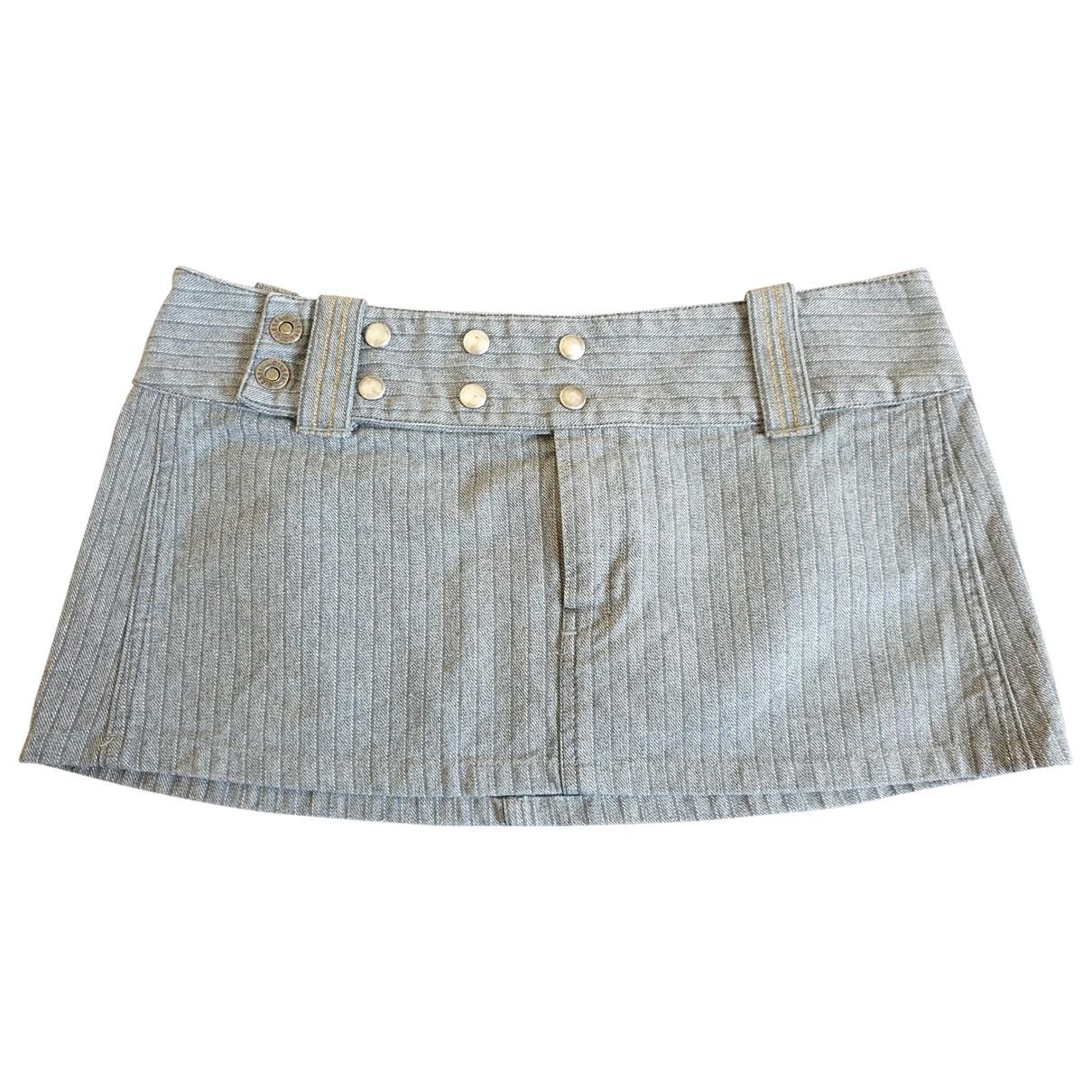 Diesel \N Rocke in  Grau Denim - Jeans