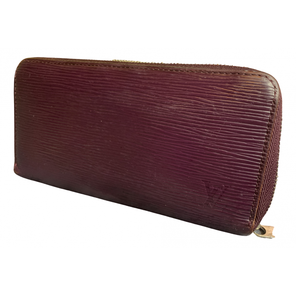 Louis Vuitton - Portefeuille Zoe pour femme en cuir - violet