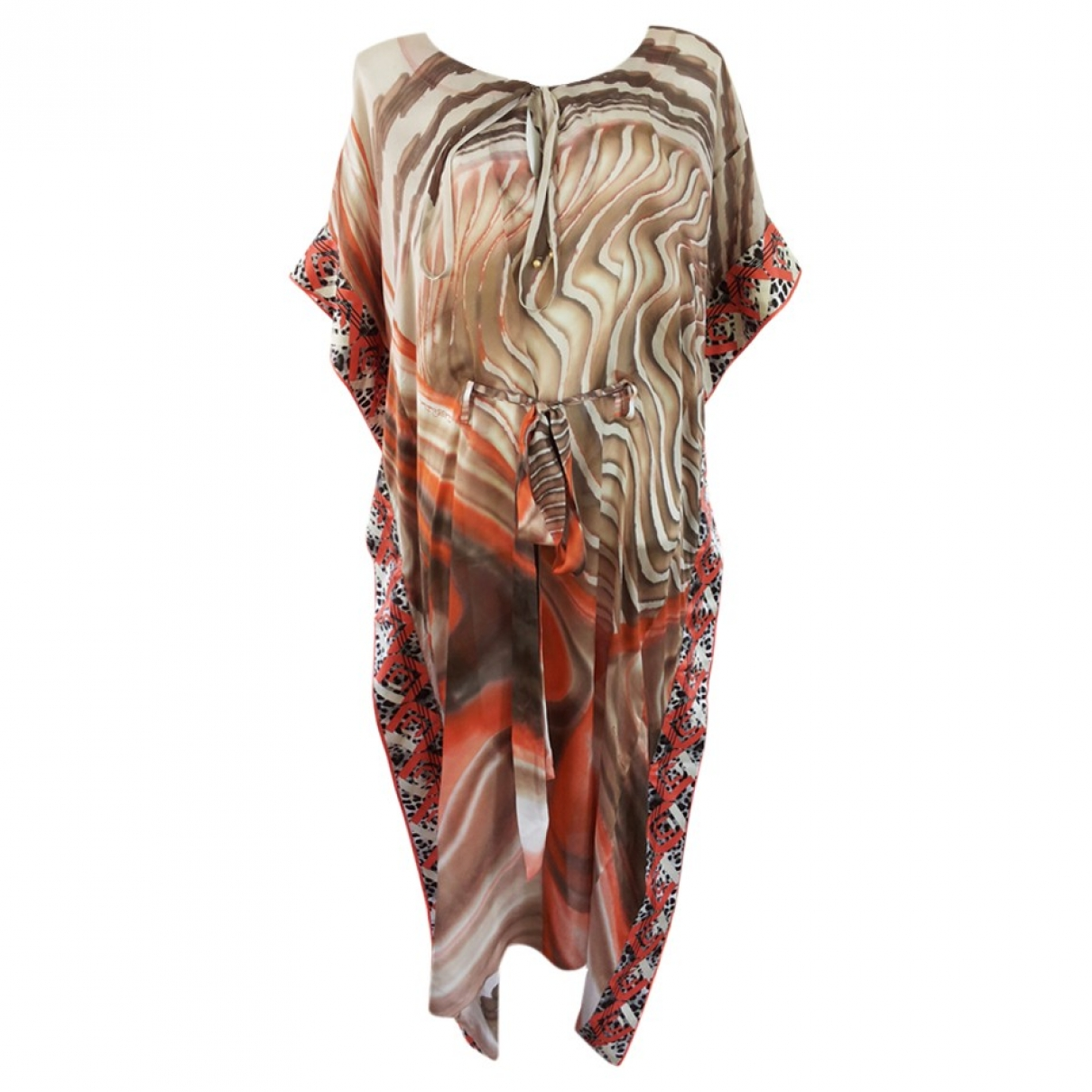 Maxi vestido de Seda Class Cavalli