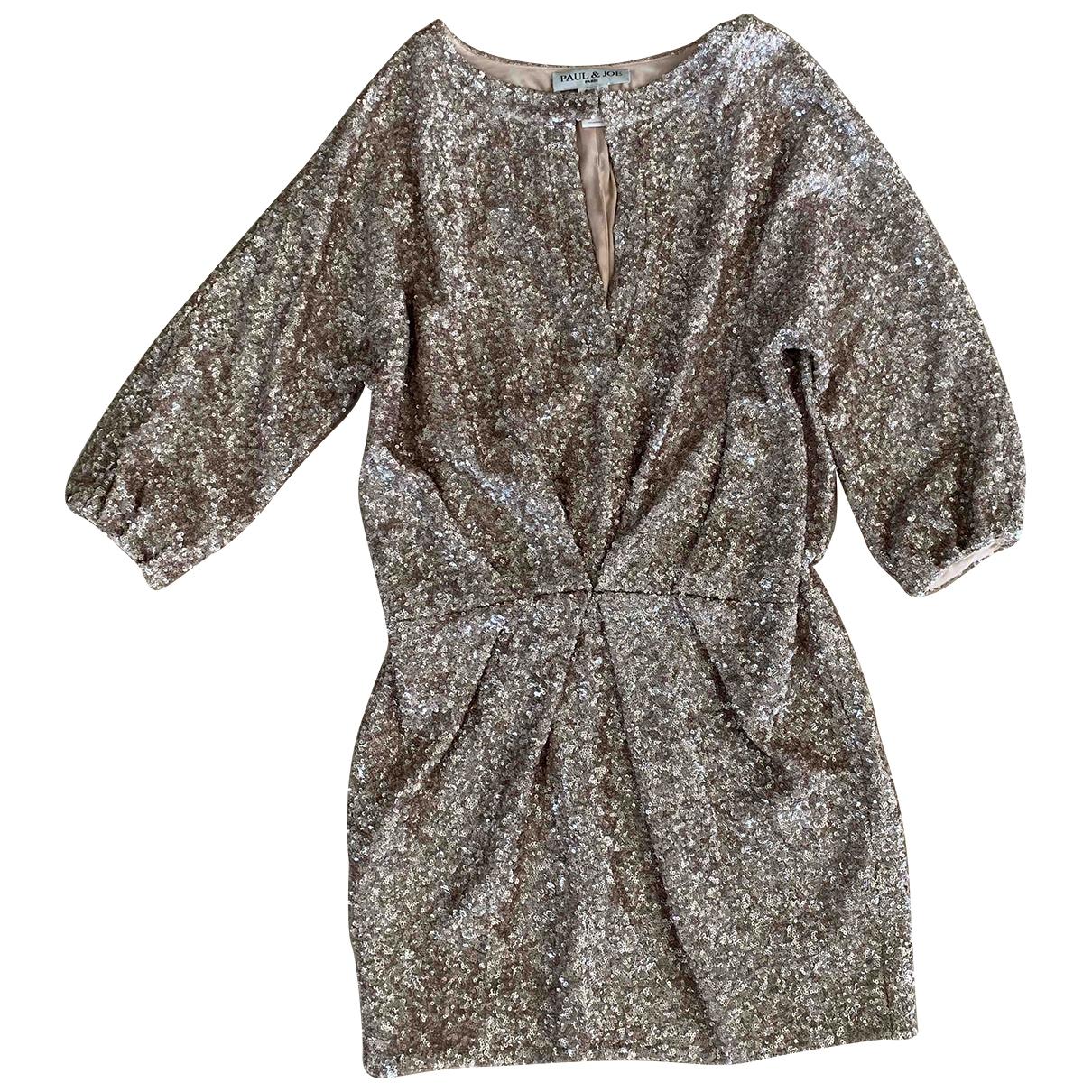 Paul & Joe \N Gold dress for Women 38 FR