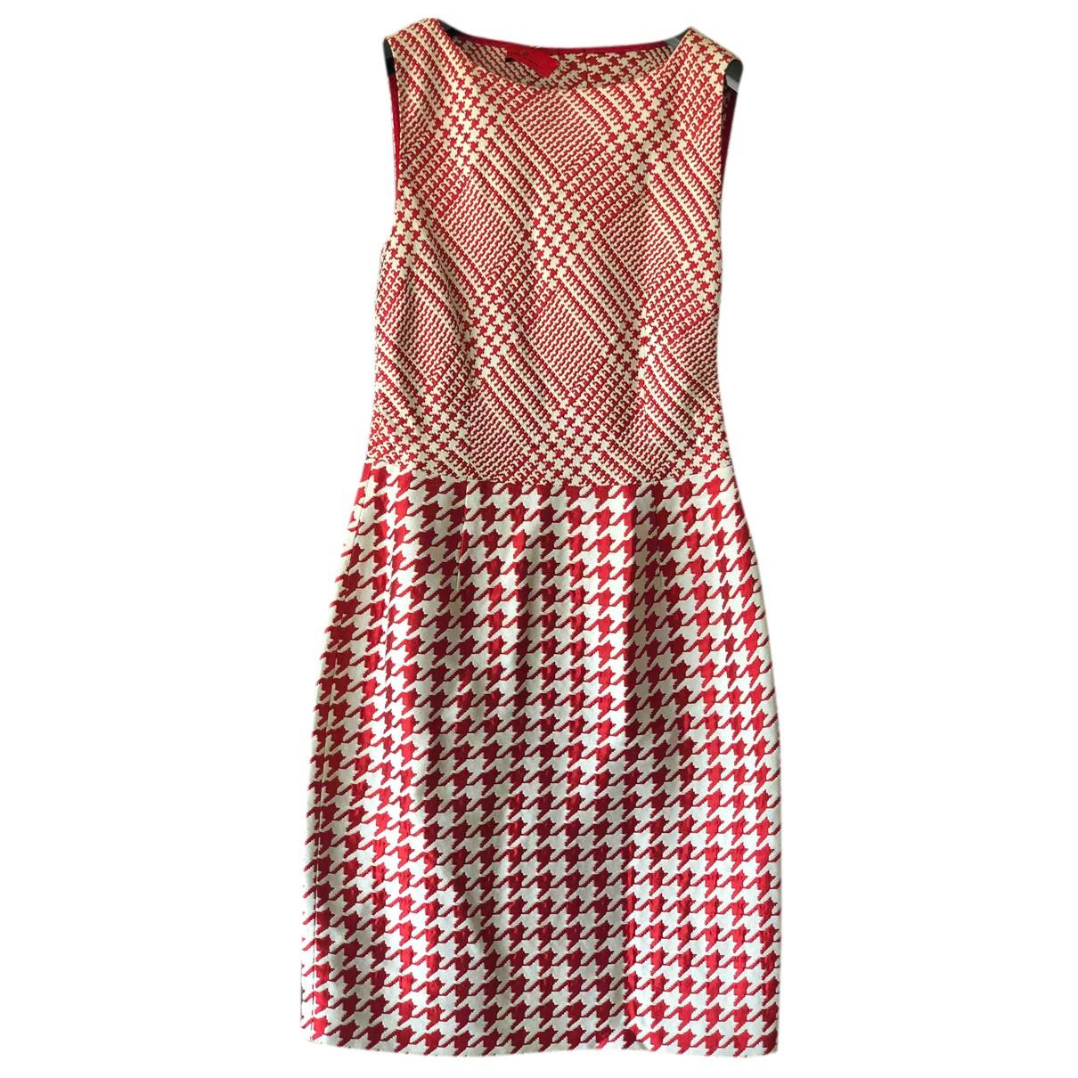 Carolina Herrera \N Kleid in  Rot Baumwolle