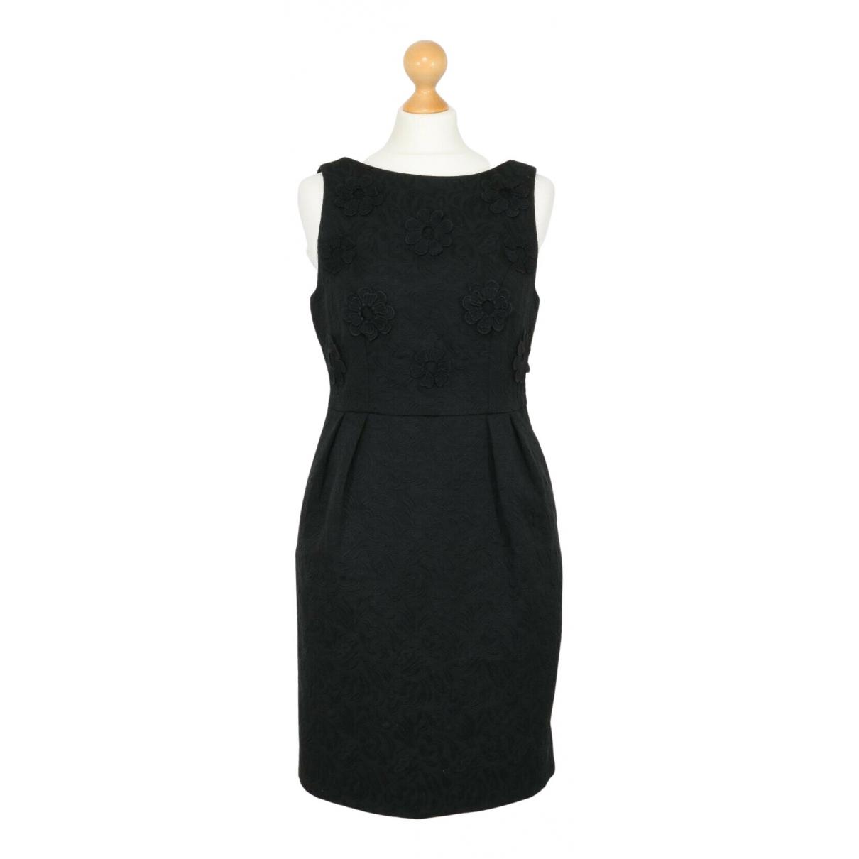 Darling \N Kleid in  Schwarz Baumwolle
