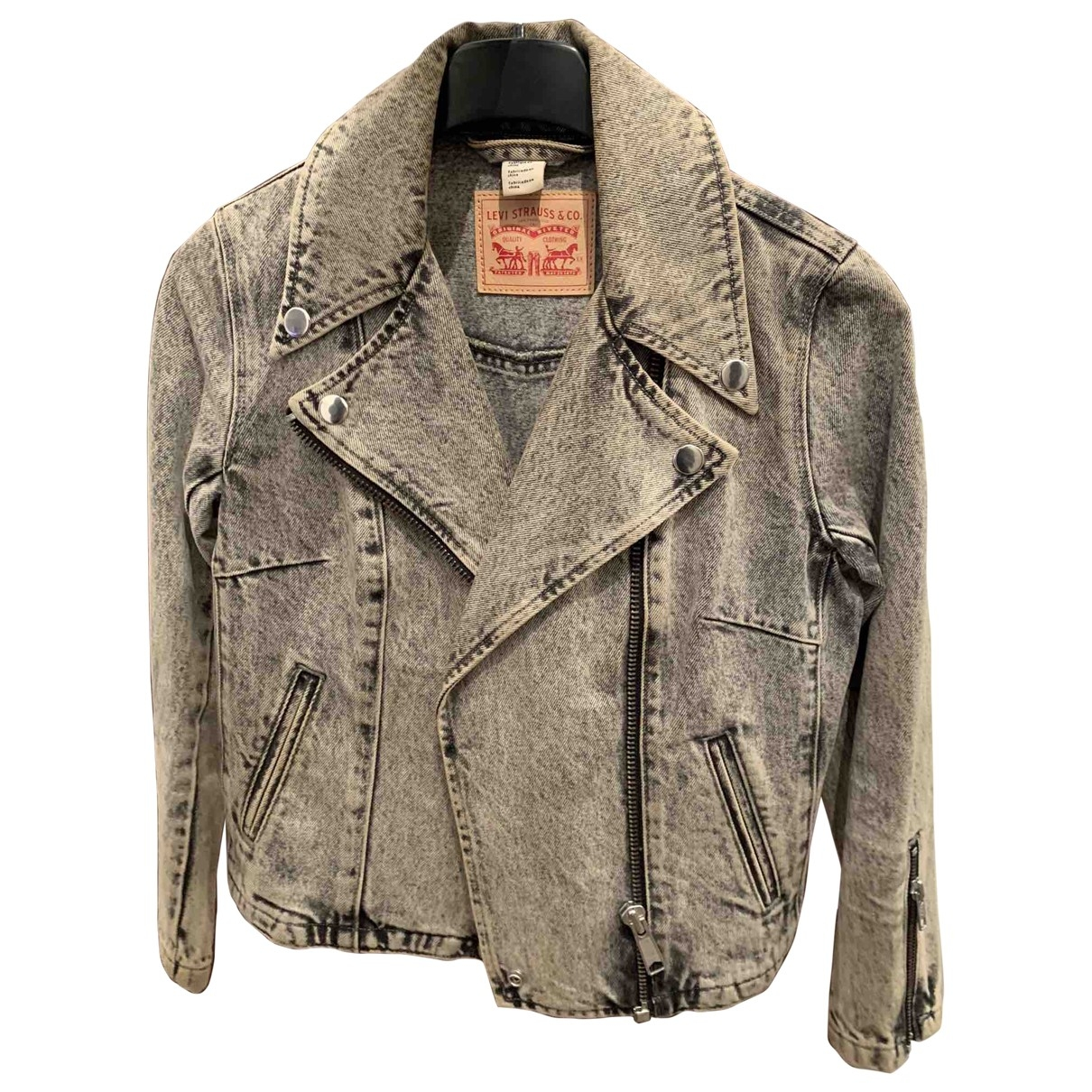 Levi's \N Black Denim - Jeans jacket for Women 34 FR