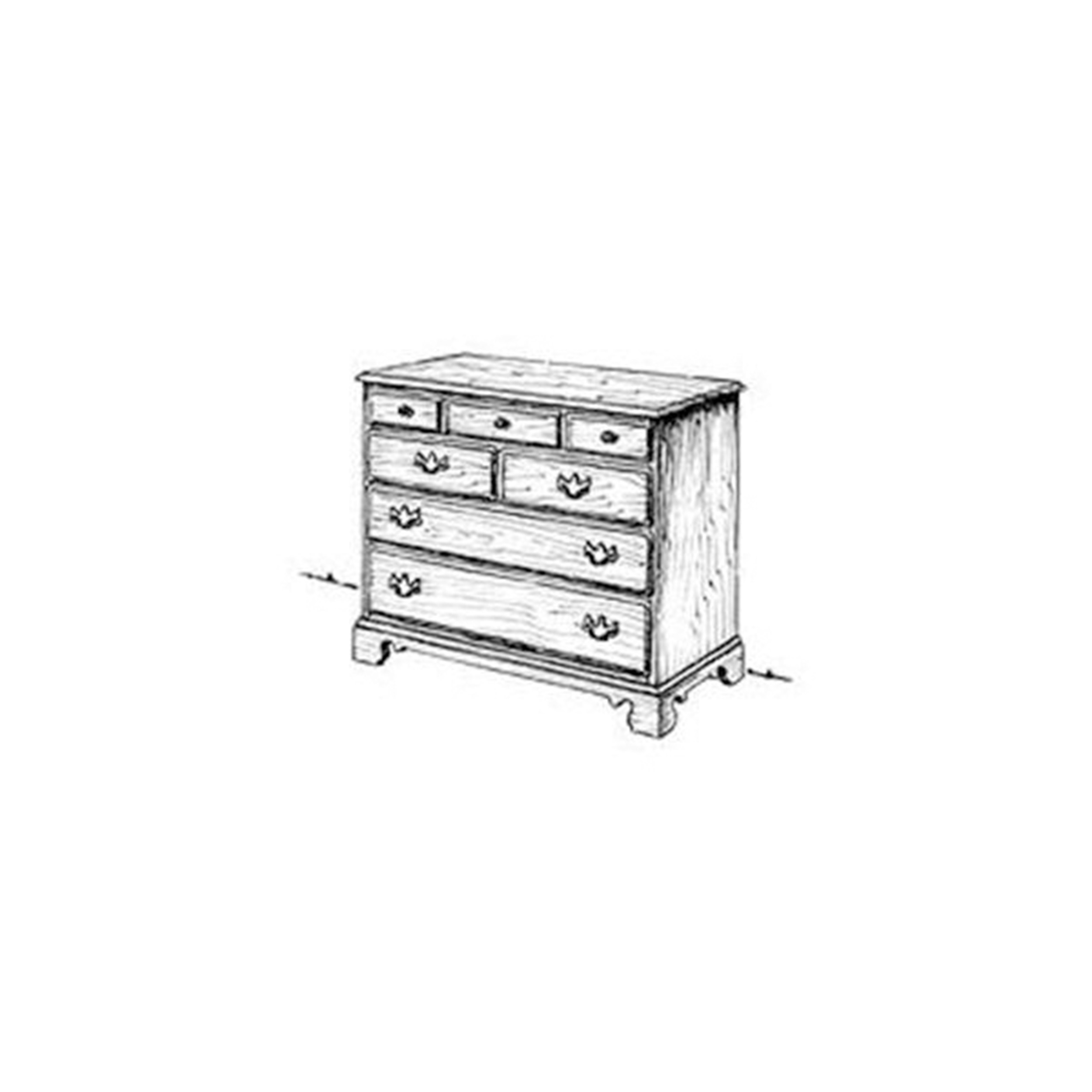 Woodworking Project Paper Plan to Build Chippendale Chest