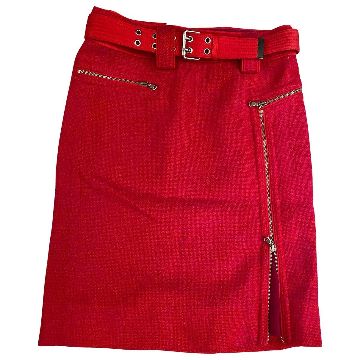 Marc By Marc Jacobs \N Pink Wool skirt for Women 6 US