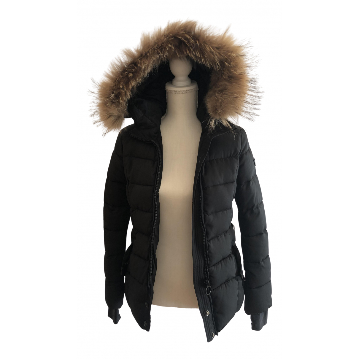 - Blousons.Manteaux   pour enfant en renard - noir
