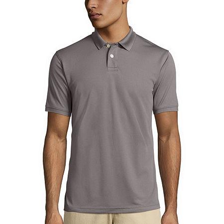 Arizona Short-Sleeve Performance Polo, Medium , Gray