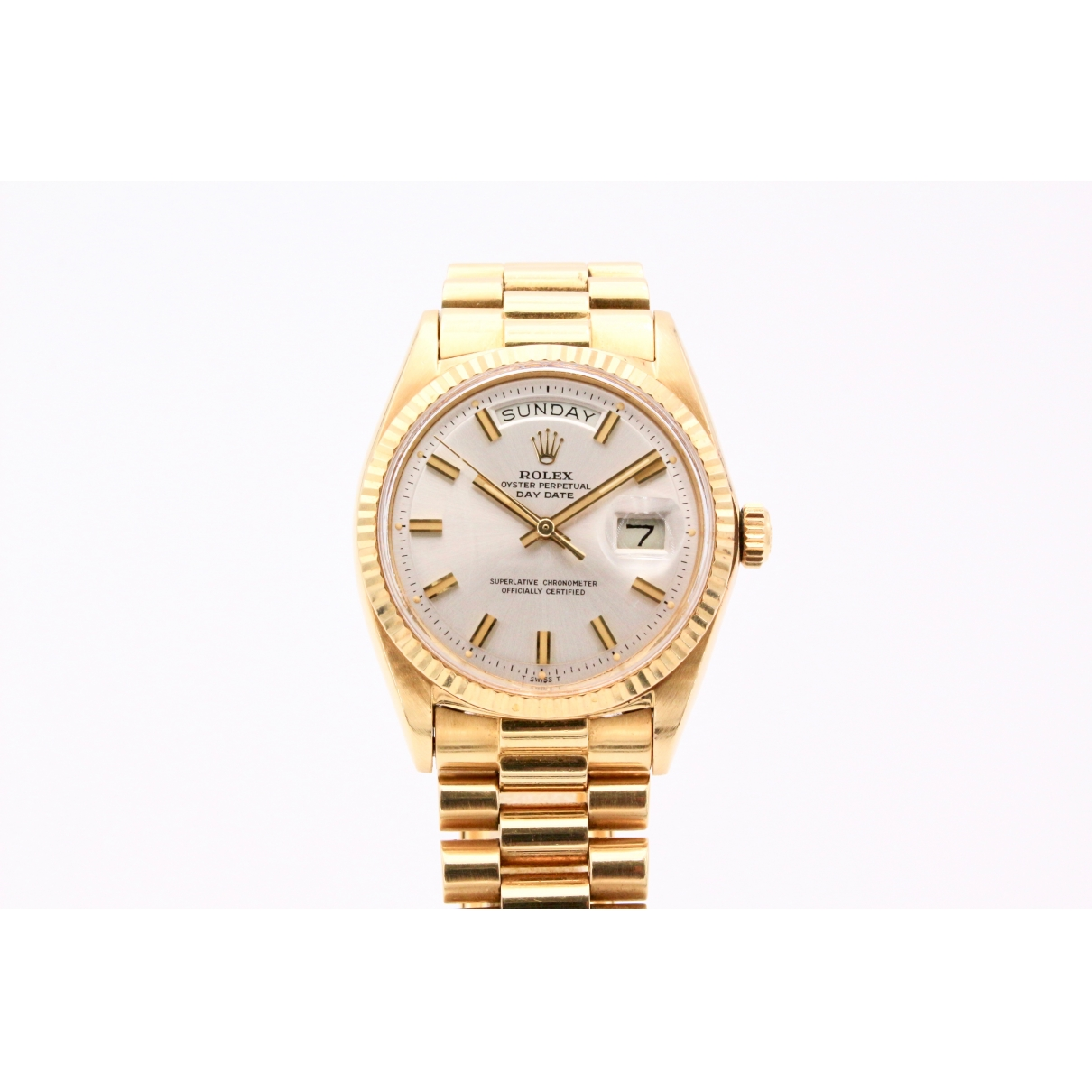 Rolex Day-Date 36mm White Yellow gold watch for Women \N