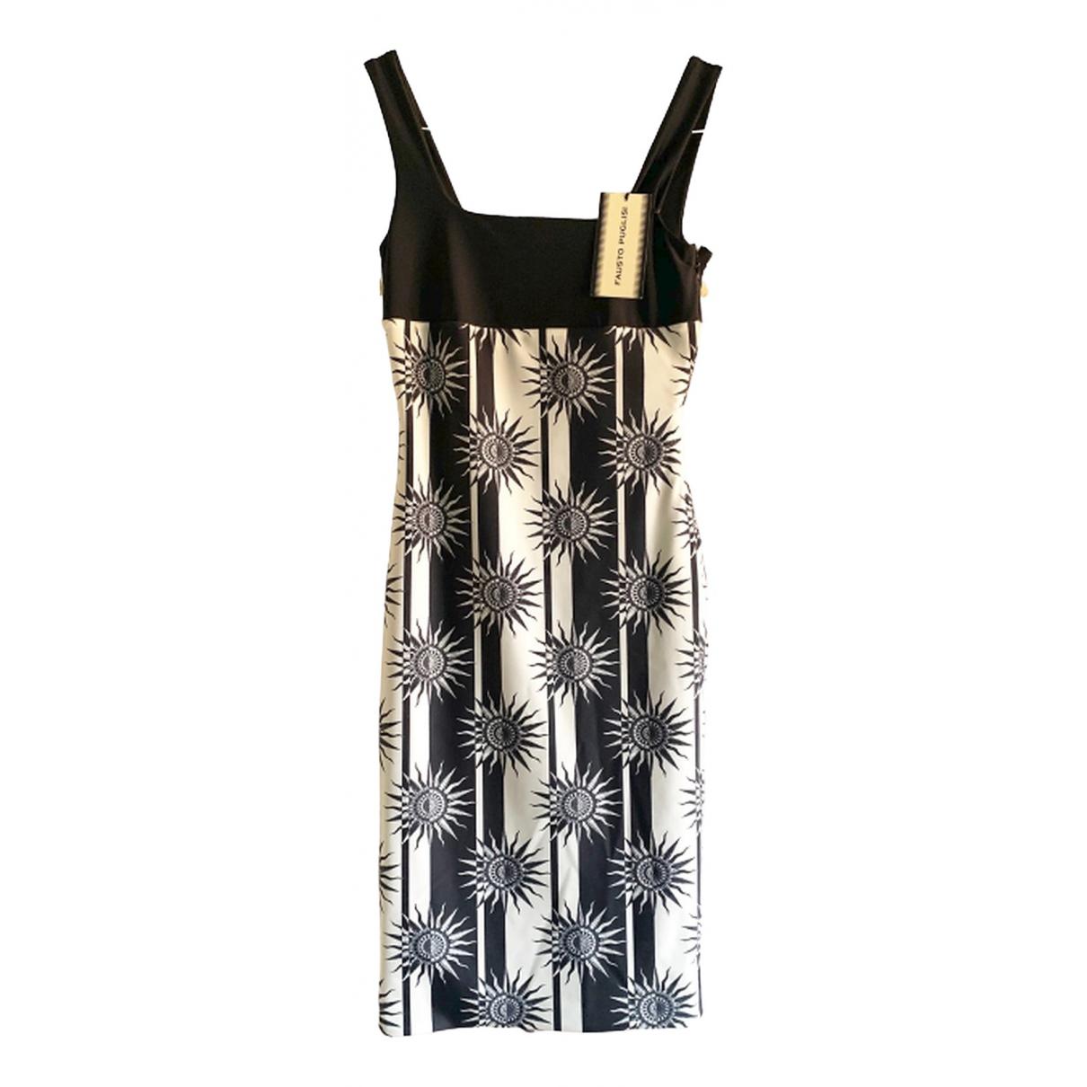 Fausto Puglisi \N Kleid in  Schwarz Polyester