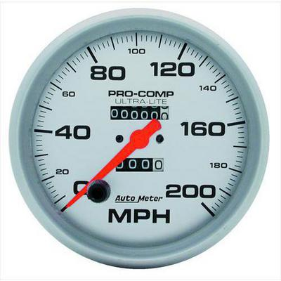 Auto Meter Ultra-Lite In-Dash Mechanical Speedometer - 4496