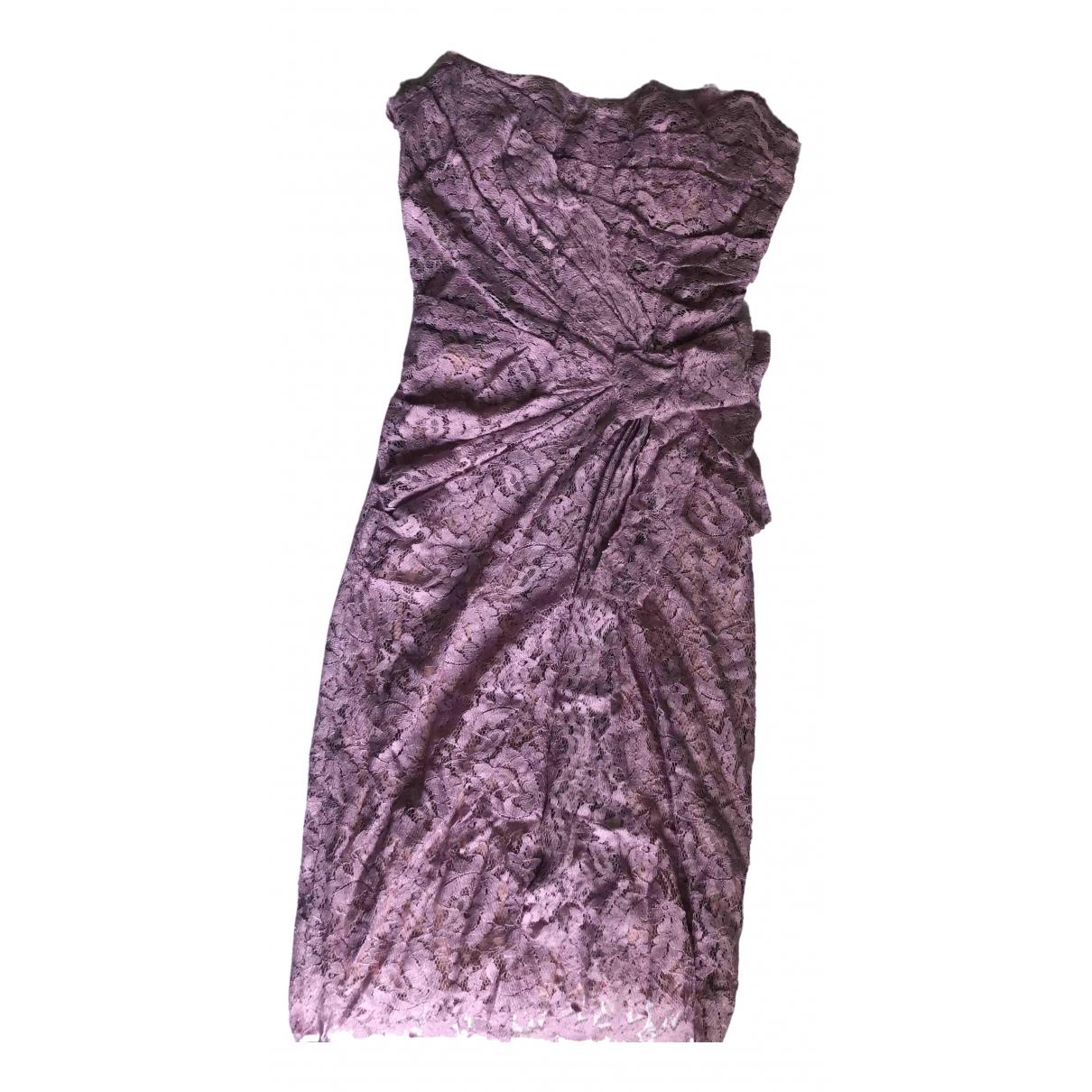 Dolce & Gabbana \N Kleid in  Rosa Spitze