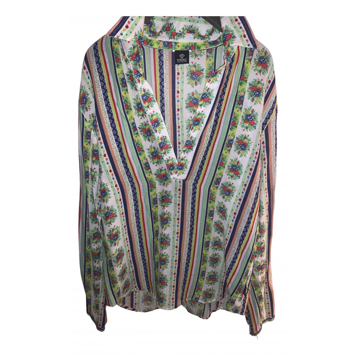 Versace Jean - Top   pour femme en coton