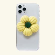Handyhalter mit Blumen Dekor