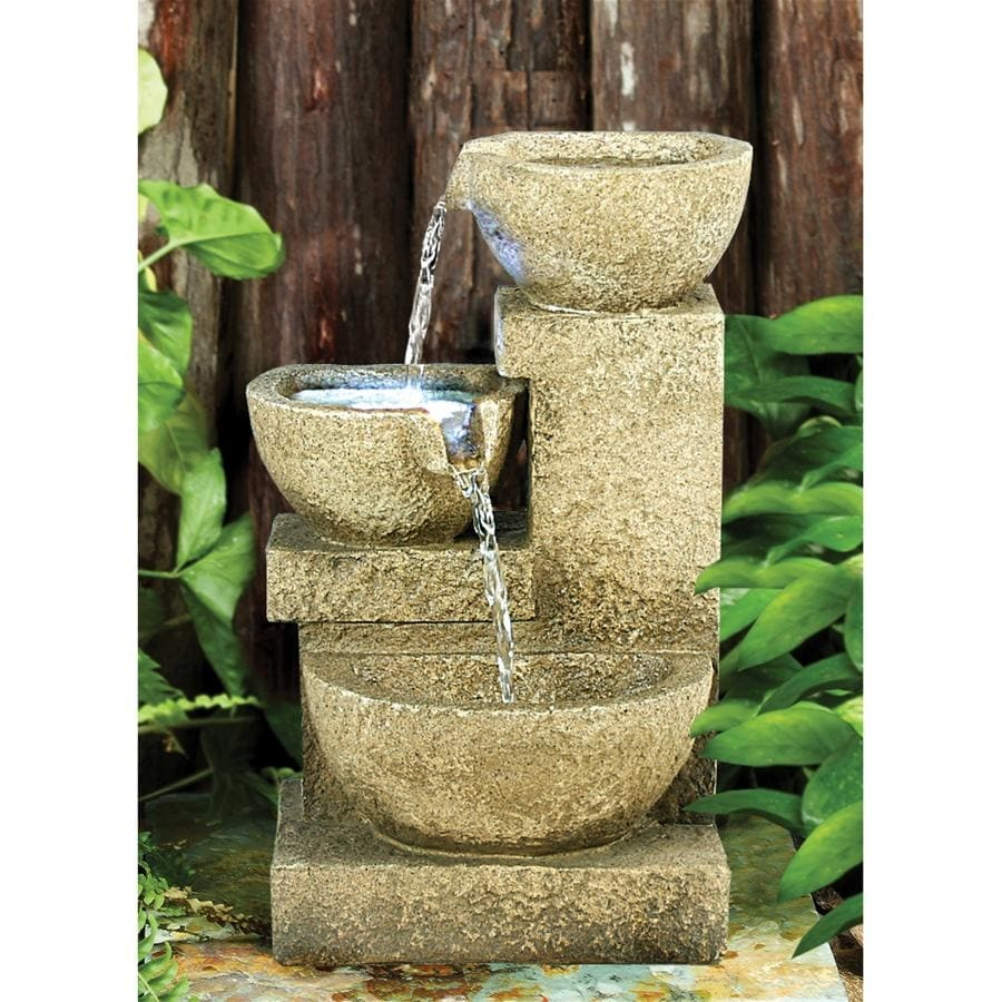 Design Toscano Villa Fortino Cascading Garden Fountain (Multi - Floor - Resin)