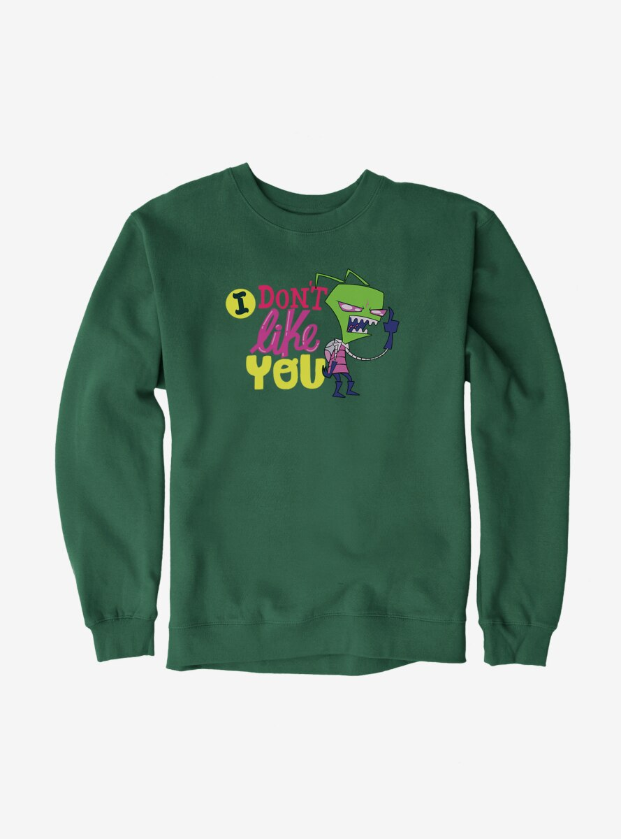 Invader Zim I Don't Like You Sweatshirt