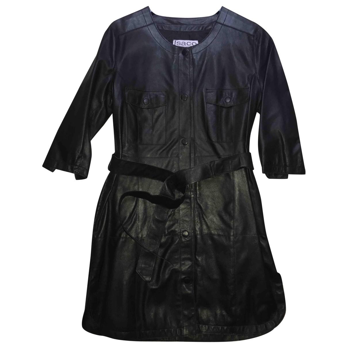 Mini vestido de Cuero Non Signe / Unsigned