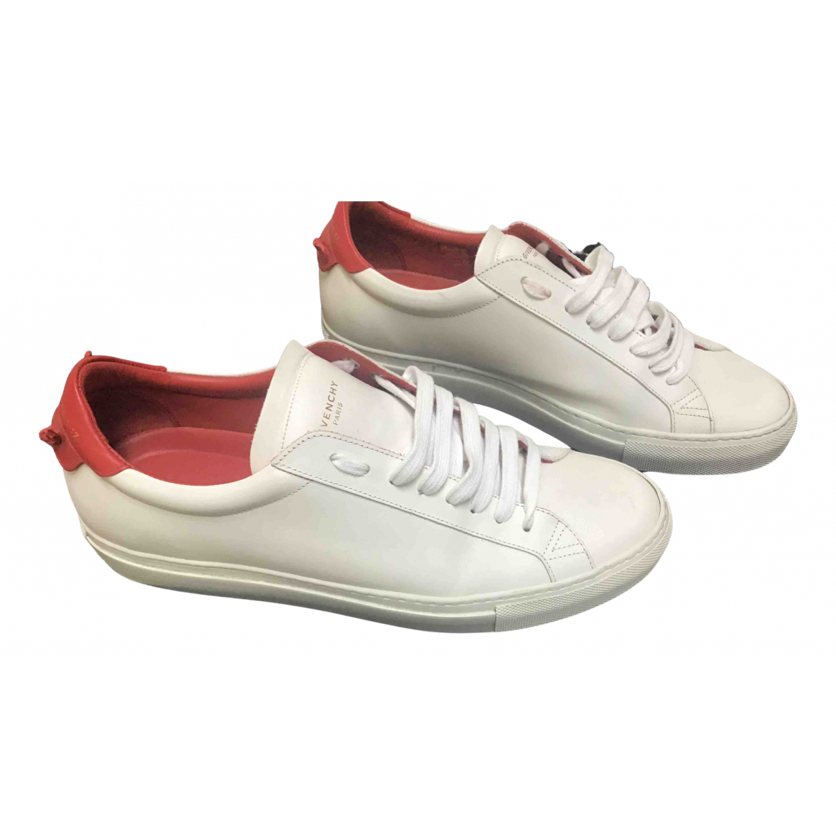Givenchy N White Leather Trainers for Men 41.5 EU