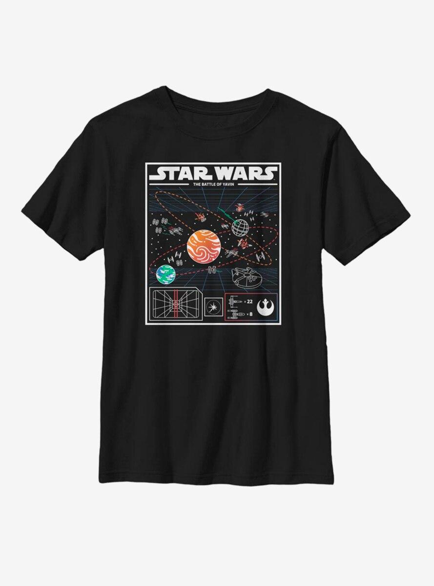 Star Wars The Battle Of Yavin Youth T-Shirt
