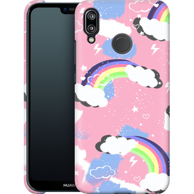 Huawei P20 Lite Smartphone Huelle - Unicorn Rainbow von Mukta Lata Barua