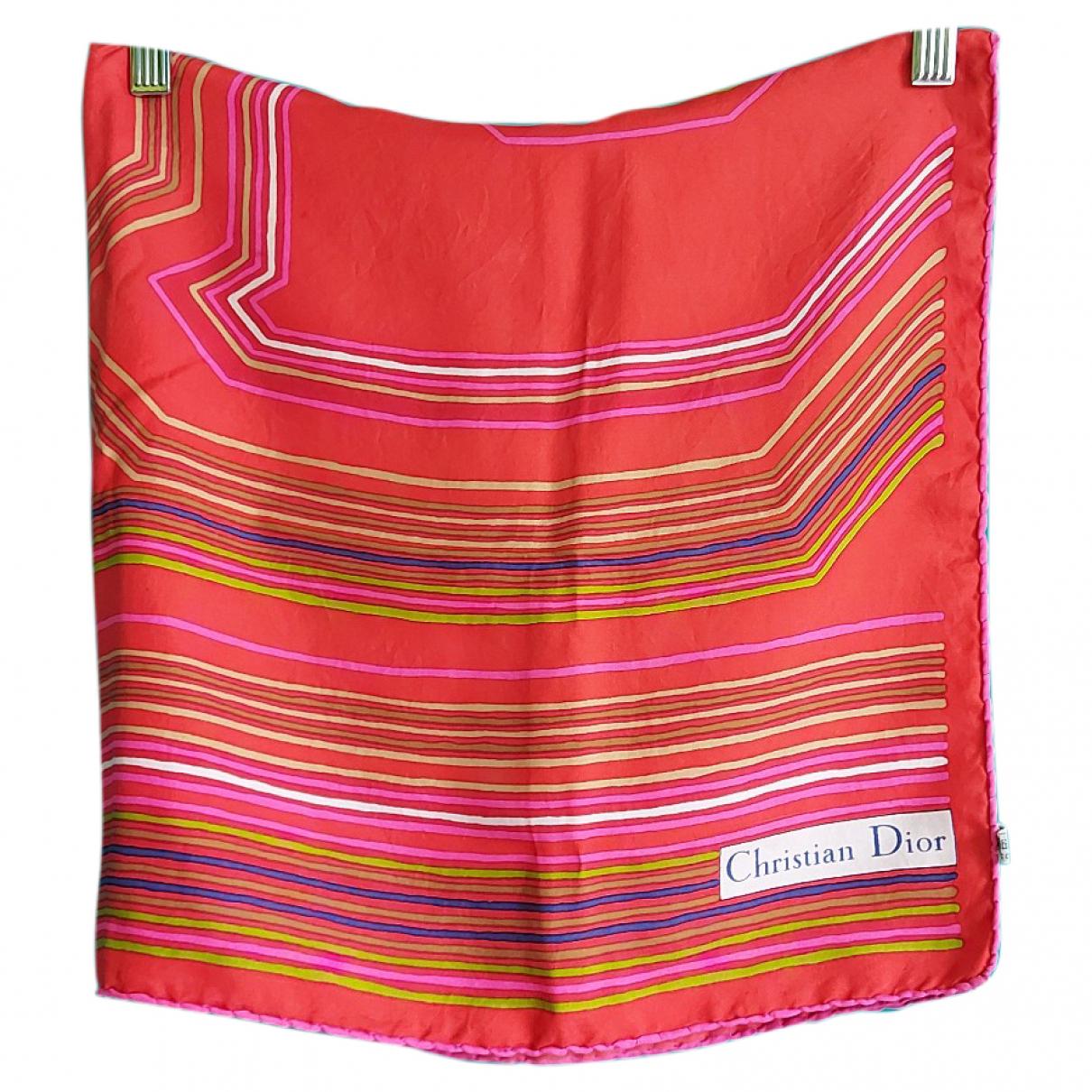 Dior N Red Silk scarf for Women N