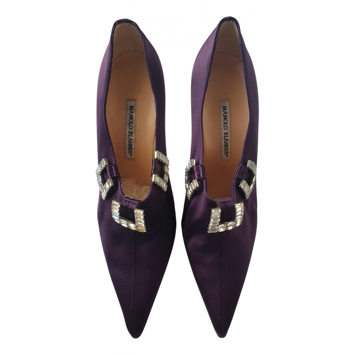Manolo Blahnik - Escarpins   pour femme - violet