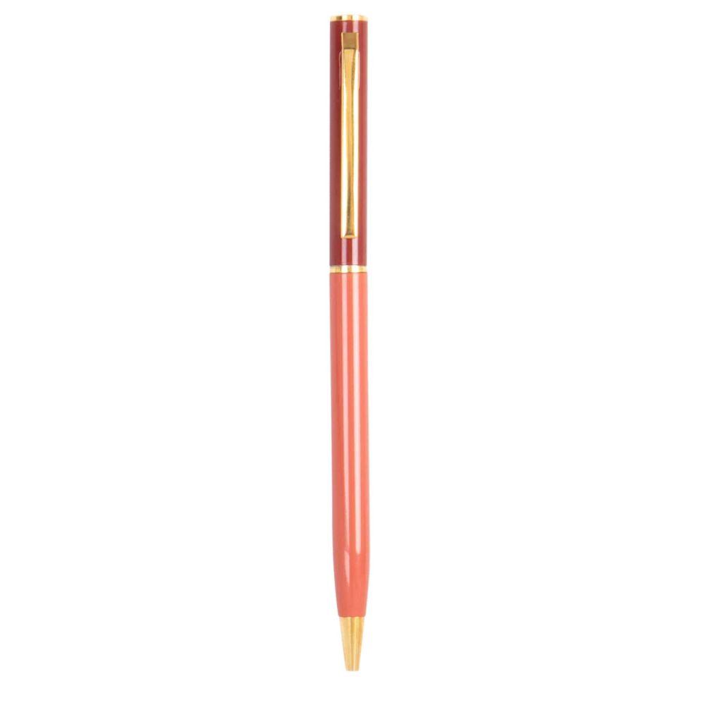 Stift, rot und foldfarben