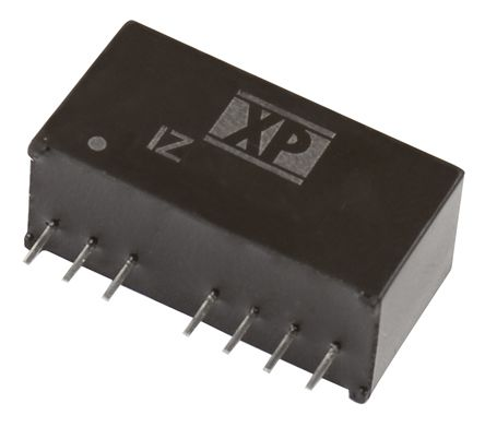 XP Power IZ 3W Isolated DC-DC Converter Through Hole, Voltage in 4.5 → 9 V dc, Voltage out 3.3V dc