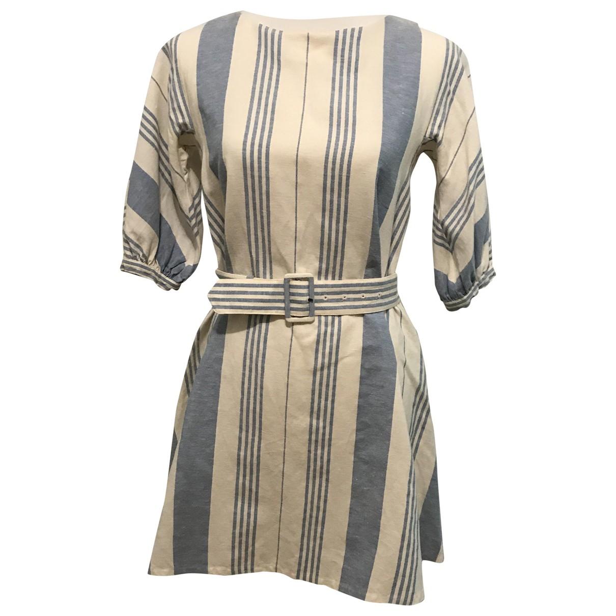 Prada \N Blue Cotton dress for Women 40 IT