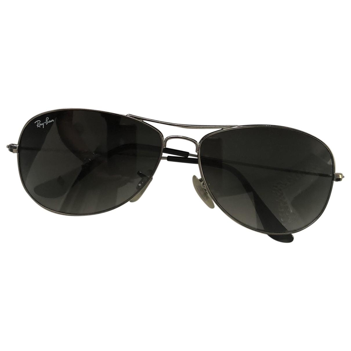 Ray-ban \N Sonnenbrillen in  Silber Metall