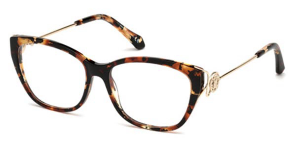 Roberto Cavalli RC 5051 FOCAGNANO 055 Women's Glasses Tortoise Size 51 - Free Lenses - HSA/FSA Insurance - Blue Light Block Available