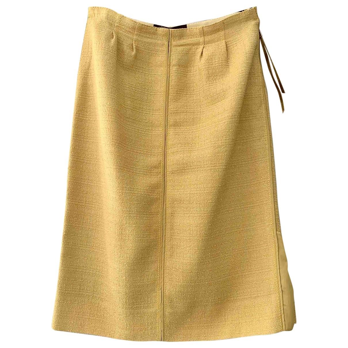 Louis Vuitton - Jupe   pour femme - jaune