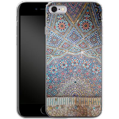 Apple iPhone 6 Silikon Handyhuelle - Iranian Mosaic von Omid Scheybani