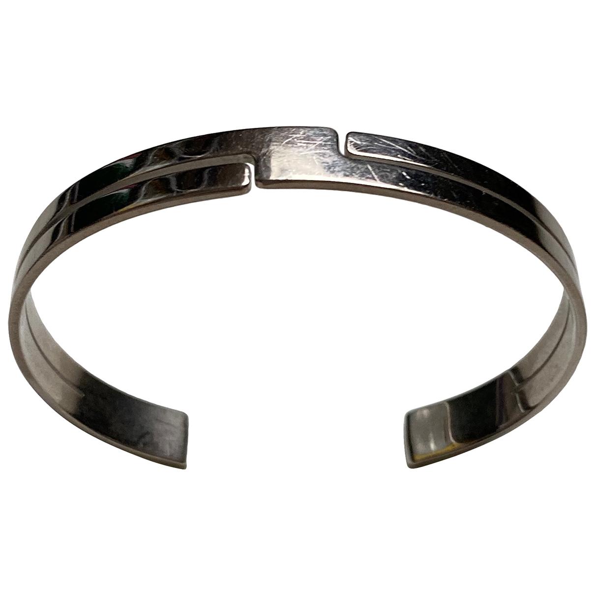Dinh Van - Bracelet Seventies pour femme en or blanc - gris