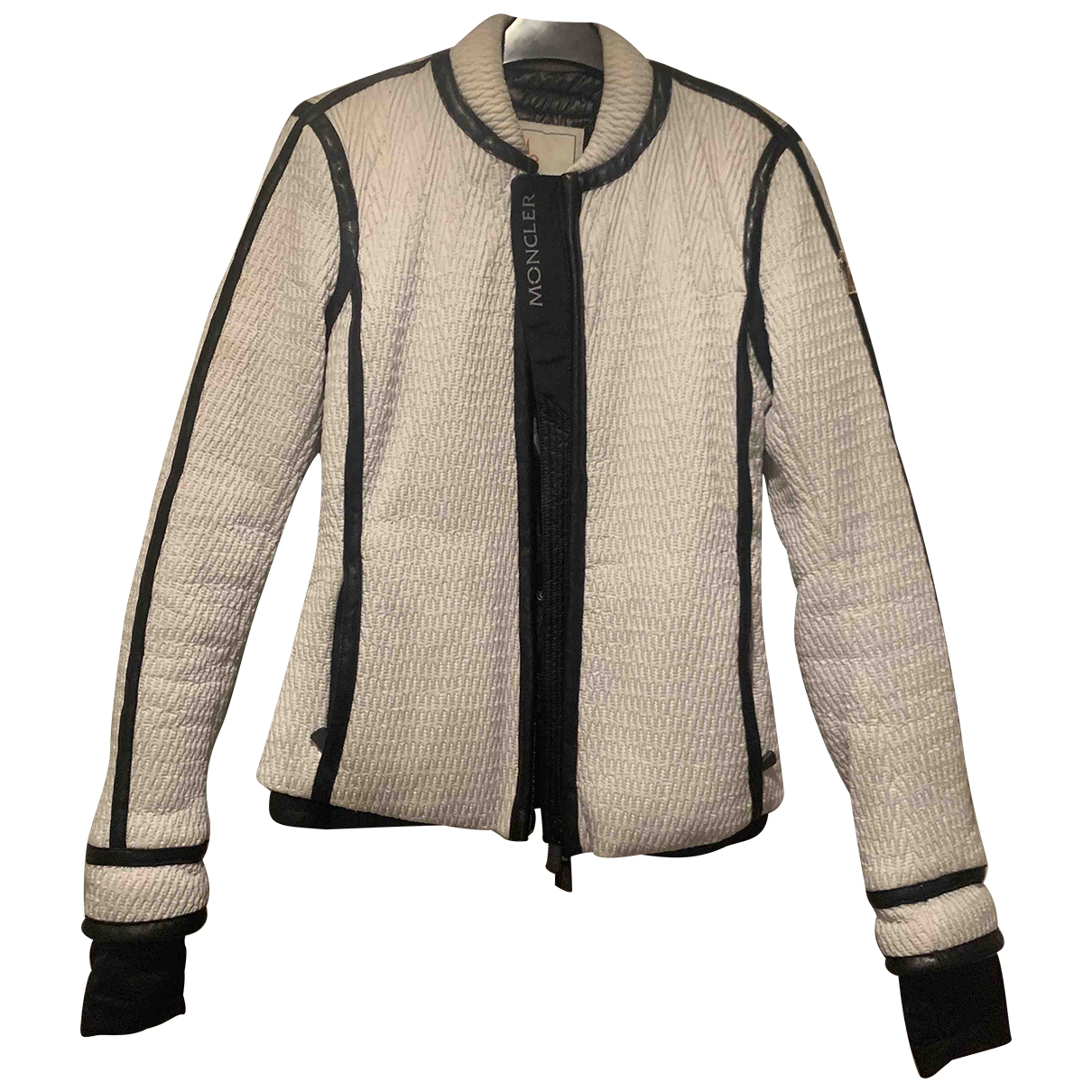 Moncler Grenoble Maentel in  Weiss Synthetik